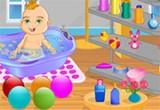 الاعتناء بحمام الطفل