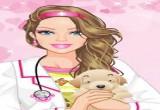 العاب تلبيس باربى الدكتورة البيطرية