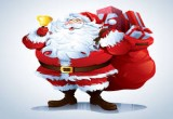 لعبة تزيين بابا نويل في عيد الميلاد 2017