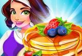 العاب طبخ تشيز كيك الفراولة