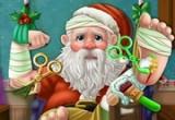 لعبة علاج بابا نويل المريض