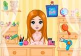 لعبة قص شعر الفتاة الجميلة