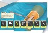 لعبة اجراء عملية جراحية اخراج الرصاصة