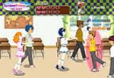 لعبة الحب في المدرسة