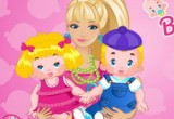 لعبة باربى حاضنة الاطفال 2014