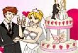 لعبة تلوين كيكة زفاف باربى