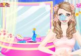 لعبة ازياء باربي العروس الجميلة