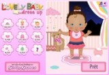 لعبة تلبيس الطفل الرضيع 2015