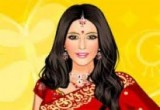 لعبة تلبيس الممثلة الهندية ارتى