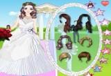 لعبة تلبيس باربى العروس فستان الزفاف