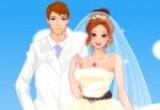 لعبة تلبيس عروسة وعريس