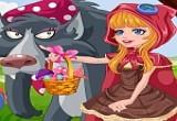 لعبة تلبيس ليلى ذات الرداء الاحمر