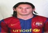 لعبة تلبيس ميسى ملابس برشلونة