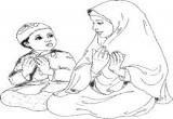 لعبة تلوين رسومات اسلامية