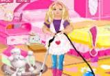 لعبة تنظيف البيت مع باربي المشاغبة