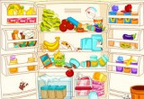 لعبة تنظيف وترتيب الثلاجة