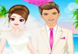 العاب تنظيف البشرة للعروس وتلبيسها ومكياجها