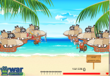 لعبة حرب القراصنة فى البحر
