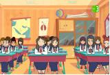 العاب دانية في المدرسة