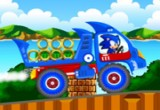 لعبة شاحنة سونيك الحديثة