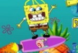 لعبة صاروخ سبونج بوب