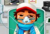 لعبة صب واى فى المستشفى
