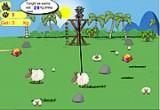 لعبة صيد الخرفان