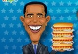 لعبة هوت دوج اوباما 2014