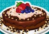 لعبة طبخ تشيز كيك بالشوكولاتة