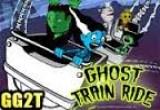 لعبة قطار مدينة الاشباح