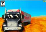 لعبة قيادة شاحنات البضائع