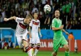 لعبة كأس العالم المانيا والجزائر