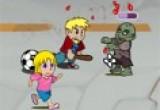 لعبة محاربة الزومبى قاتل الاطفال