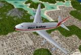 لعبة محاكاة الطيران المدنى
