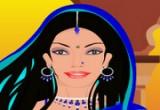 لعبة مكياج ملكة جانسى الهندية