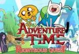 لعبة وقت المغامرة فين وجيك البطولية