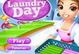 لعبة يوم التنظيف والغسيل