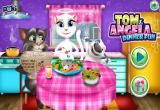 لعبة أنجيلا تطبخ 2017