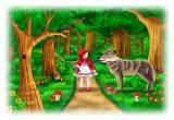 لعبة ليلى والذئب للاطفال