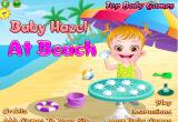 لعبة الطفلة الجميلة هازل في البحر 2016