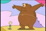 العاب الدب برعم وصديقه بالغابة