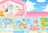 لعبة ترتيب المنزل الوردي الجميل 2017
