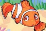 لعبة السمكة البرتقالية