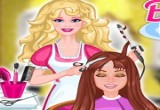 لعبة باربي قص شعر