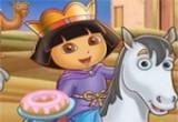 لعبة تركيب صور الأميرة دورا  2017