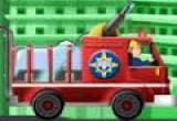 لعبة سيارة الاطفاء اطفاء الحريق