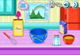 لعبة طبخ الكيك بالفراولة والكريمة