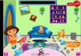 لعبة تنظيف منزل دورا 2017