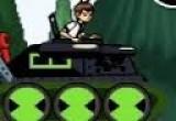 لعبة سباق دبابات 3 دي مع بن تن  البطل