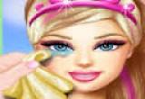 لعبة سوبر باربي علاج العيون